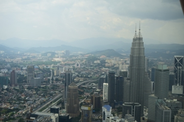 View from KL tower @ 282m