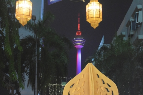 View of KL Tower from my hotel