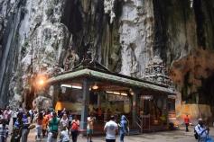 Valli Deivanai Murugan Temple inside the Batu Caves