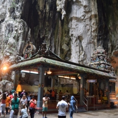 Valli Deivanai Murugan Temple inside the Batu Caves