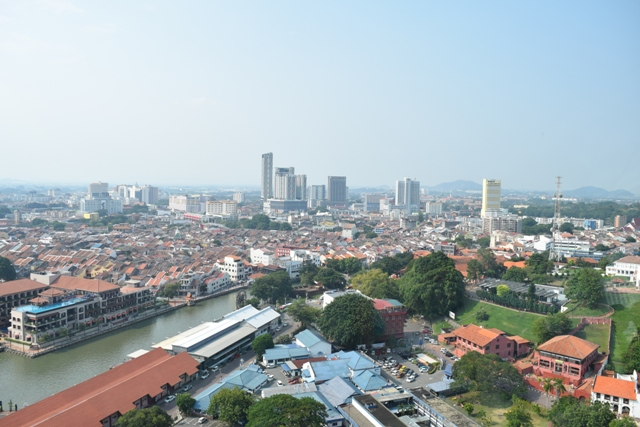 Another view of Malacca from Taming sari