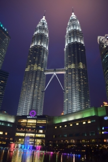 Petronas Towers @ night