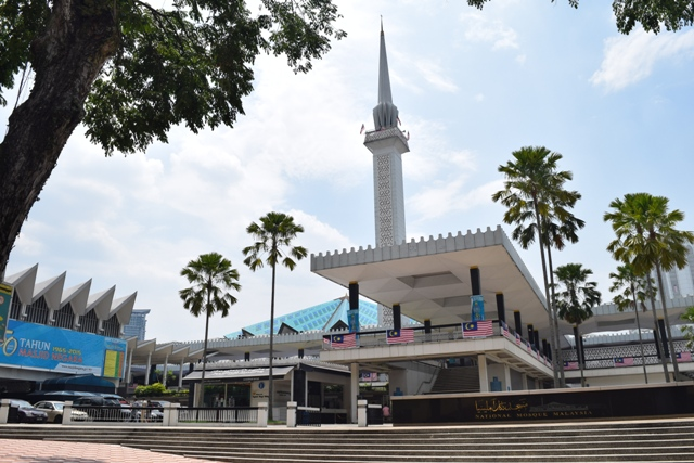 National Mosque - entrance