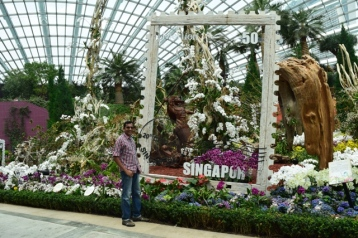 Me inside Flower Dome