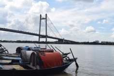 Vivekananda Sethu and Hoogly River