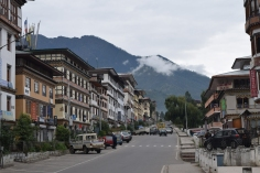 Streets in Thimphu
