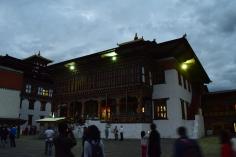 Buddha temple inside the Dzong