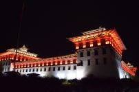 The Dzong @ night