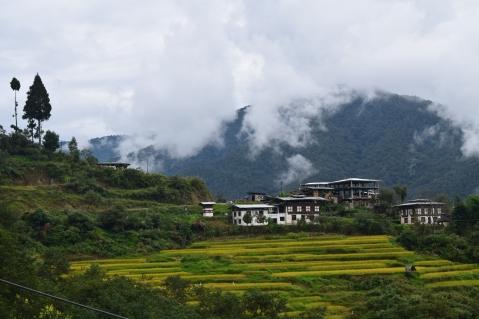 Scenery enroute Punakha