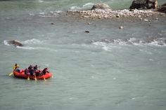 River rafting in Pho Chhu river