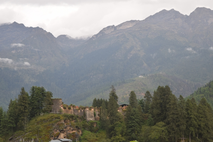 Ruins of Drukgyal Dzong