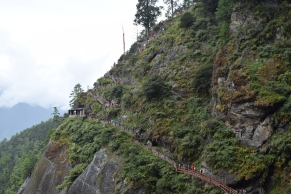 Stairways along the cliff