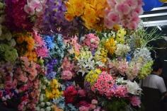 Sight from flower market