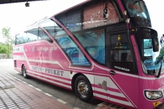 Our bus to Krabi