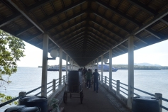Ferry terminal at Krabi