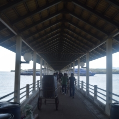 Ferry terminal at Krabi
