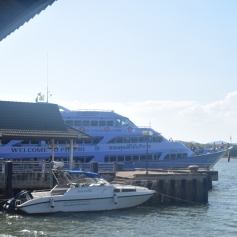 Our boat to Phi Phi
