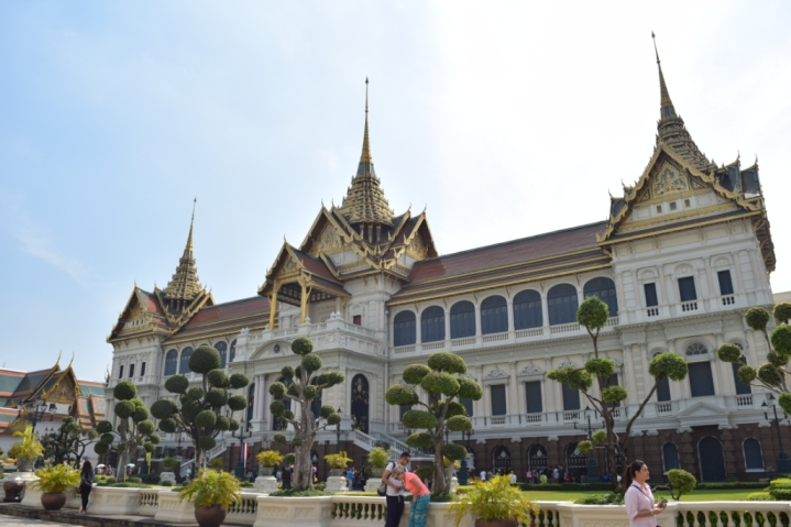 Inside Grand Palace complex