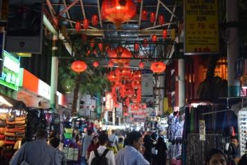 Busy Petaling Street