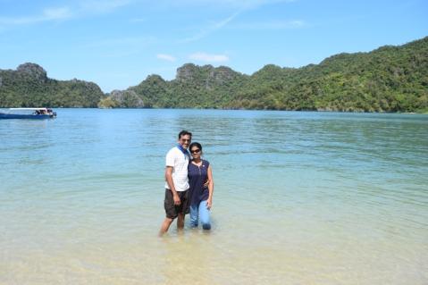At Tanjung Rhu Beach