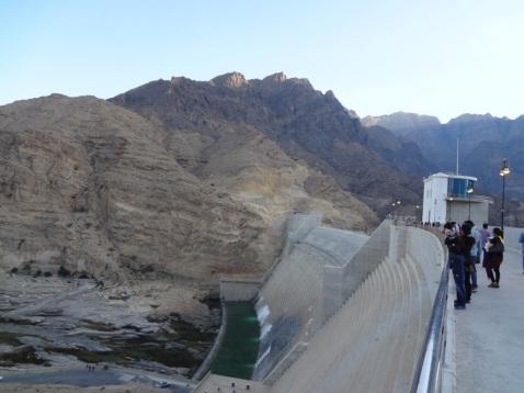 The Dam spillway