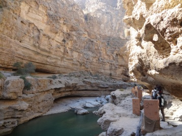 Walkways into the wadi
