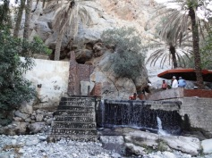 Hot spring - waterfall