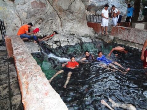 The warm pool