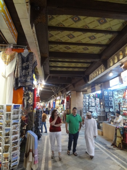 Inside the souq