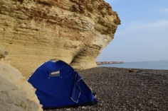 Our camp site (PC: Amar Fayyad)