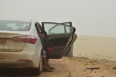In front of Rakhyute beach