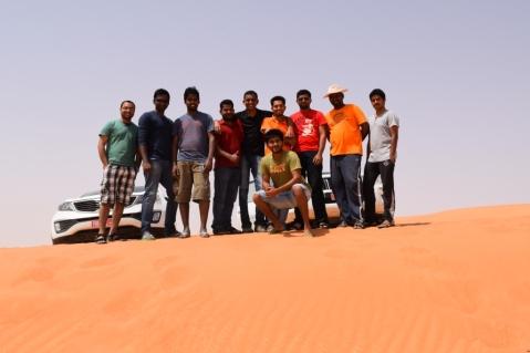 Our trip team