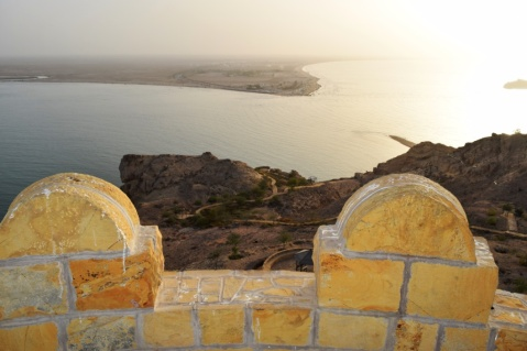 View of Al Sawadi from the watch tower