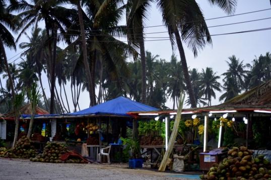 Street side shops