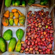 Fruits on sale