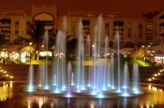 Fountain inside
