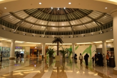 Dome inside mall