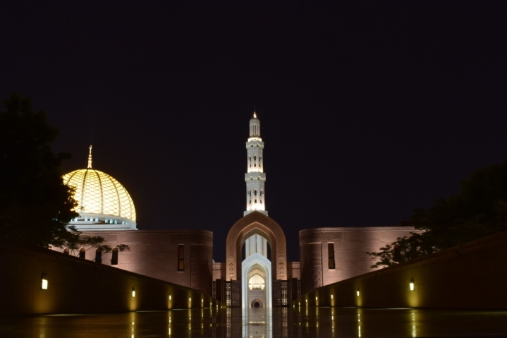 Inside the Grand Mosque campus