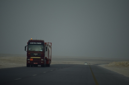 Road to Salalah