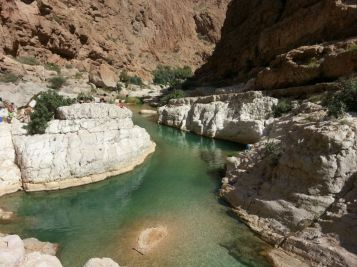 One of Wadi Shab pools