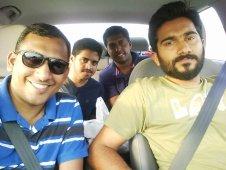 Our team - Myself, Amar, Vineeth and Jestin