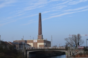 Giant chimney near Dampoort