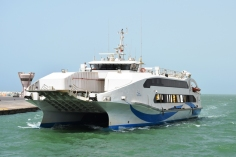 One of the ferries operated by NFC