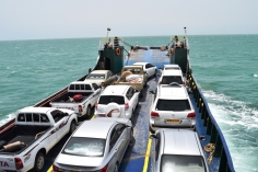 Our voyage to Masirah on a landing craft
