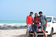 Vineeth, Vishal and Amar - buddies for Masirah trip
