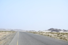 Roads and landscape of Masirah