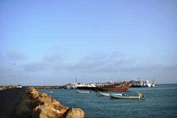 Masirah harbour