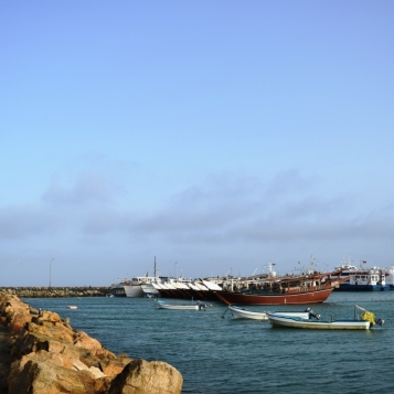 Masirah harbour
