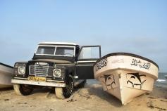 Masirah's favourite car - Vintage Land Rovers