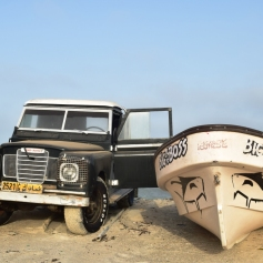 Masirah's favourite car - Vintage Land Rovers